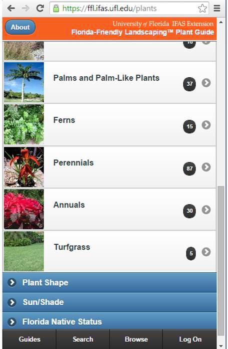 FFL Plant Guide