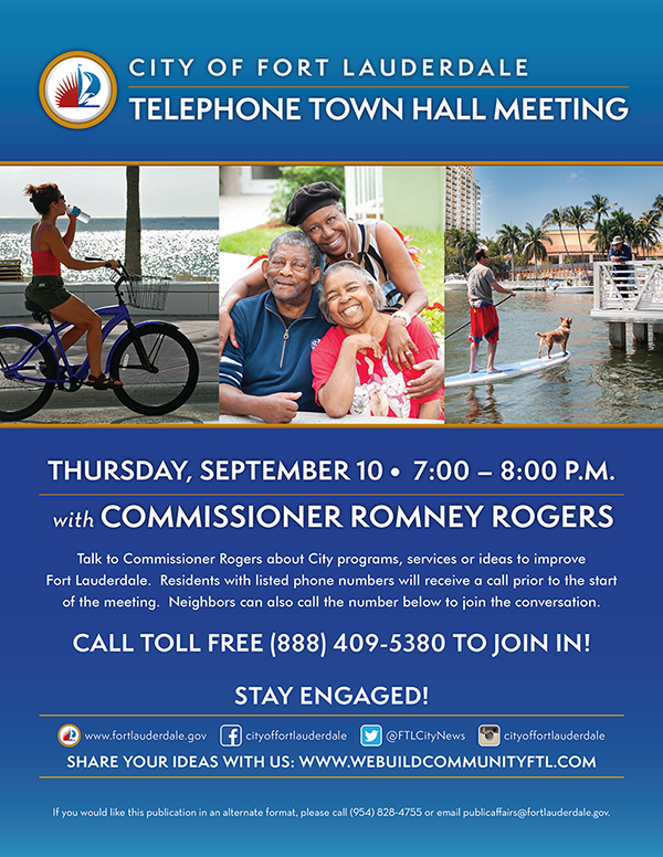 Commissioner Rogers Town Hall Meeting