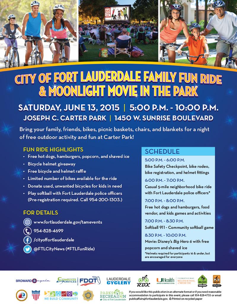 Flyer_Family Fun Ride_June 2015