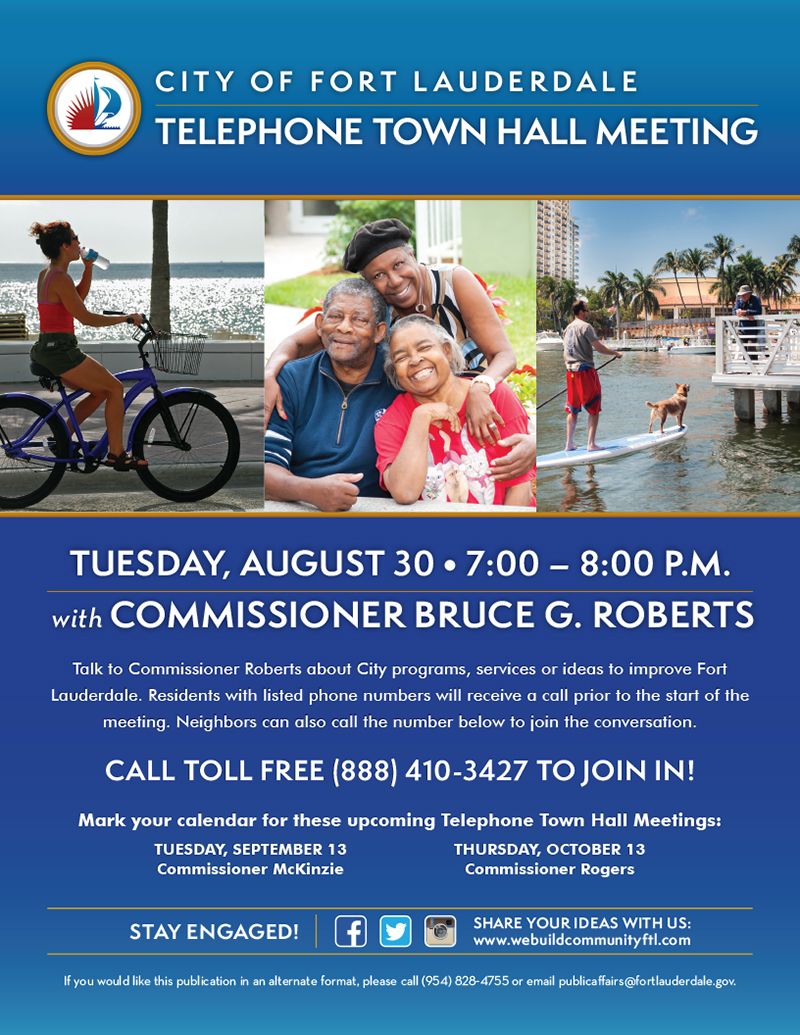 Roberts Telephone Town Hall Meeting 2016