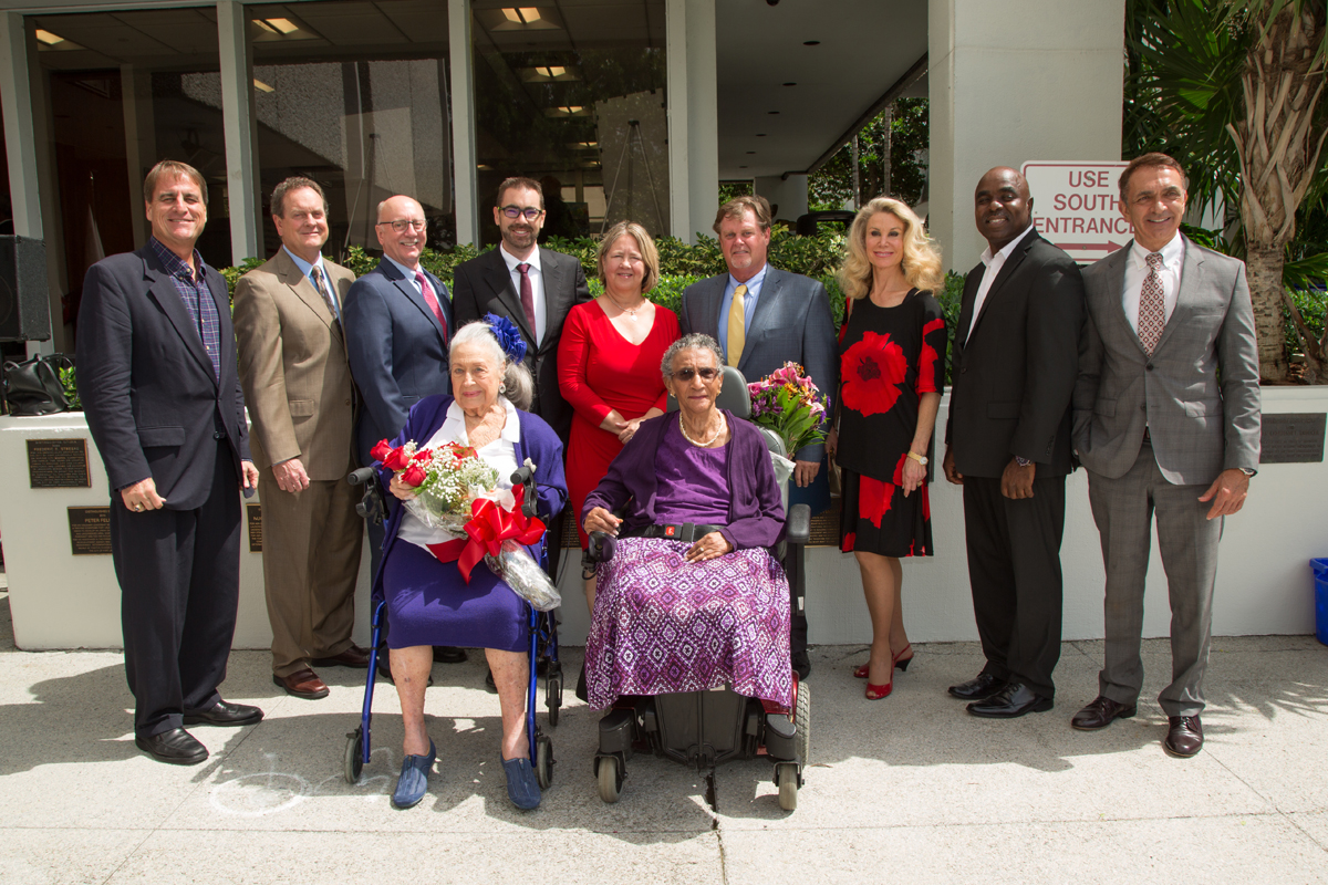 2016 Citizens Recognition Awards honorees with Fort Lauderdale City Commission