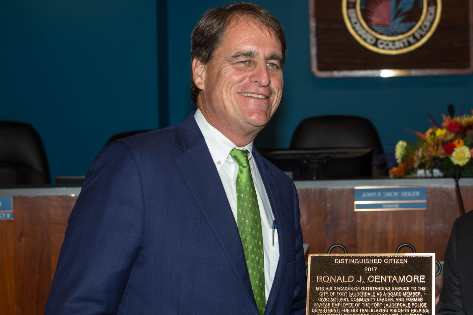 Fort Lauderdale Mayor John P. Jack Seiler