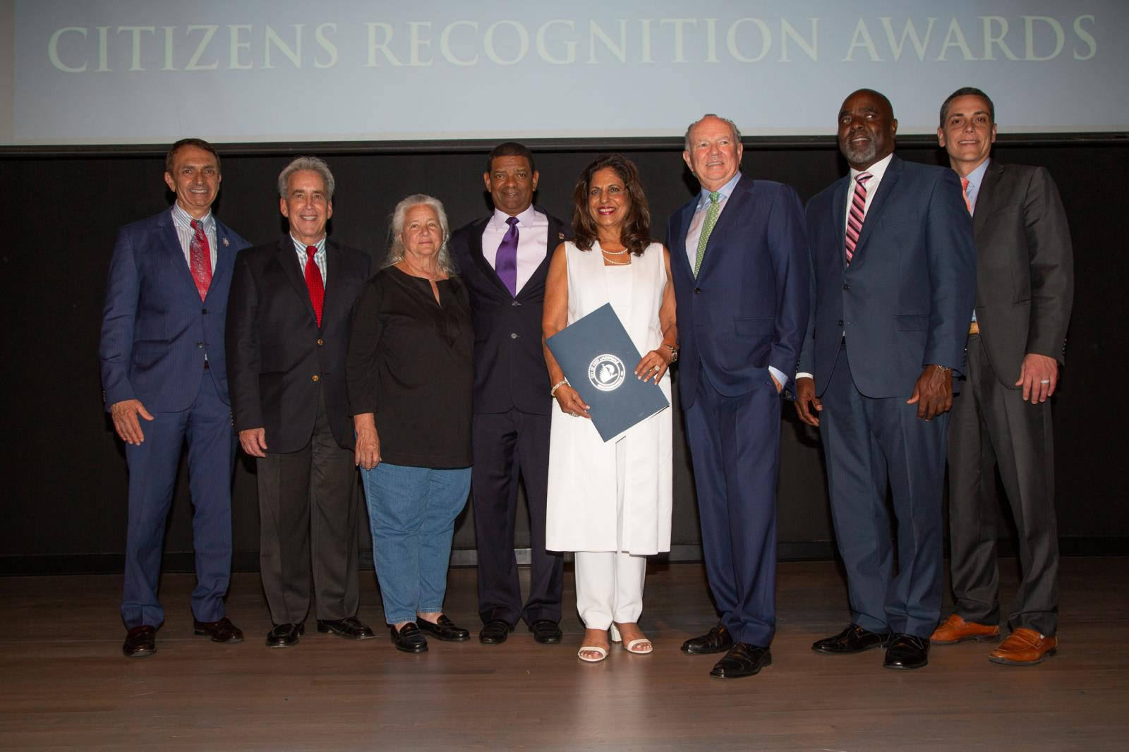 Fort Lauderdale City Commissioners with the 2018 Citizens Recognition Awards Honorees