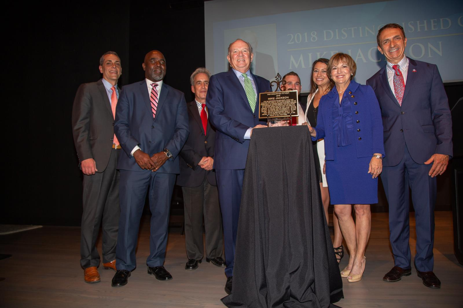 Fort Lauderdale City Commission and 2018 Distinguished Citizen Mike Jackson