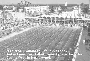 City of fort lauderdale fl history world records for International swimming hall of fame pool