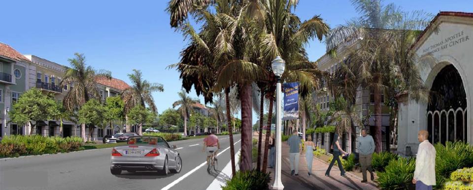 City Of Fort Lauderdale Fl Davie Boulevard Corridor