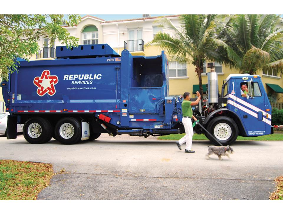 ... Services are provided by Republic Services. You can learn more about