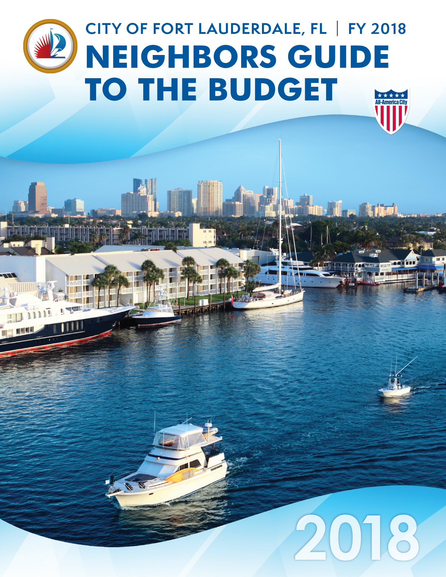 City of fort lauderdale fl annual budgets fy 2018 neighbors guide to the budget pdf geenschuldenfo Images