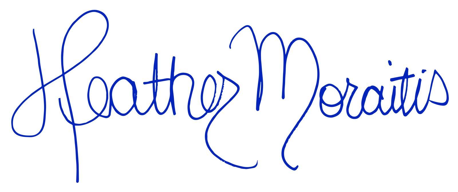 4441 ComHeatherMoraitisSign_Blue
