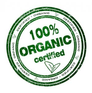 100 Percent Organic Logo