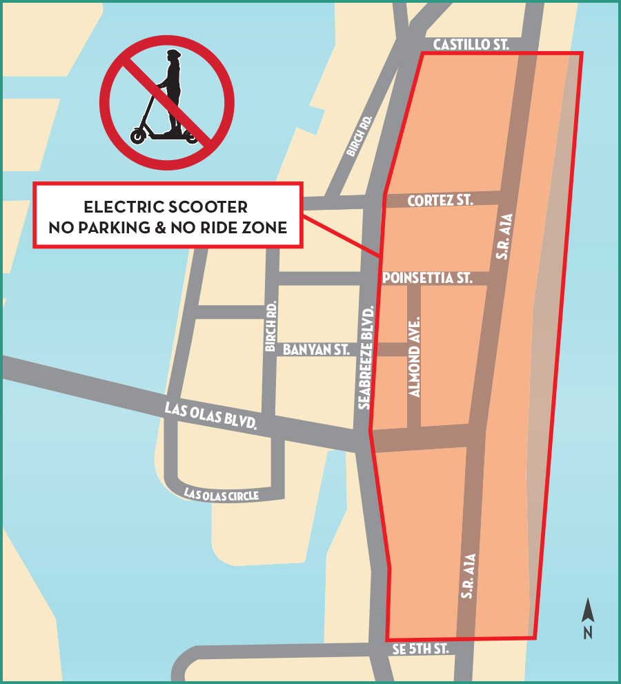 Scooter Ban Map