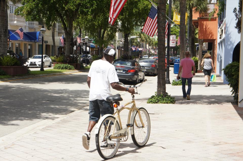 Bike ped Las Olas