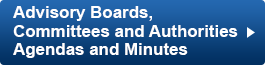 Advisory Boards and Committees Agendas and Minutes