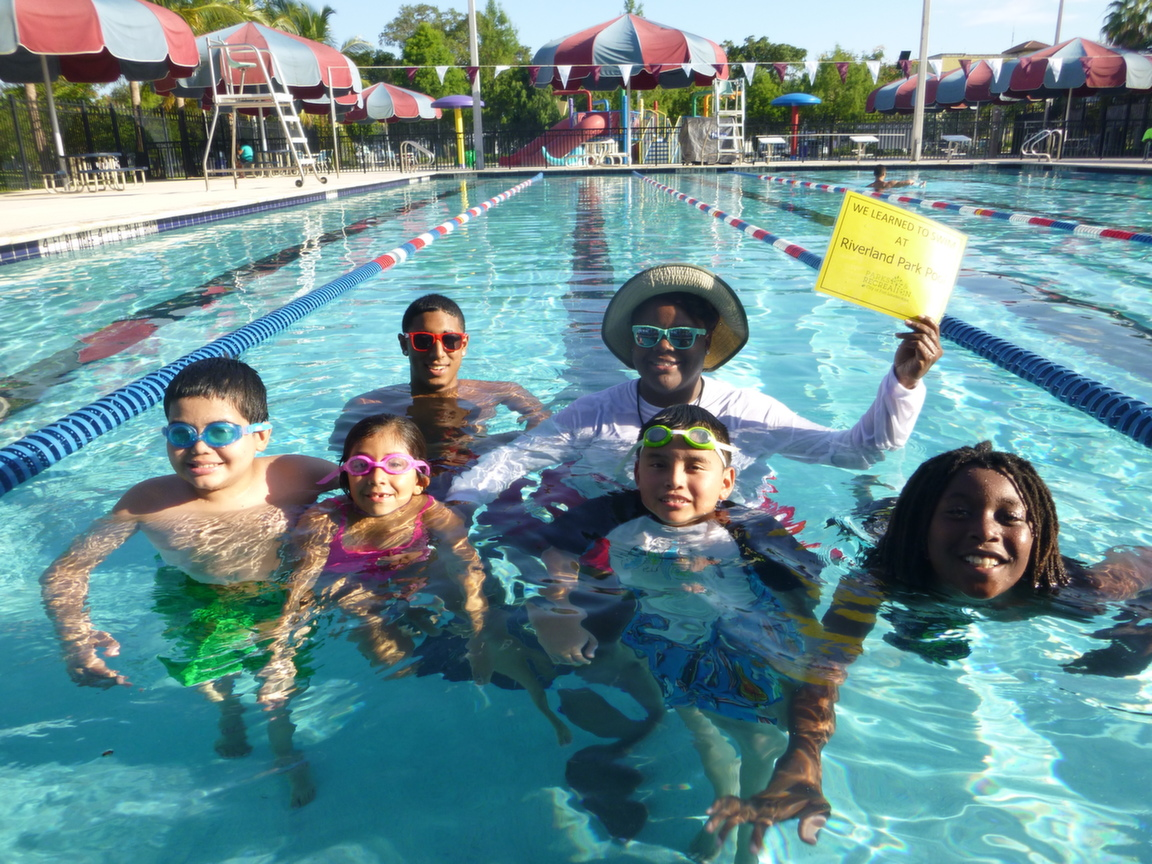 City of fort lauderdale fl riverland park pool - Pools on the park swimming lessons ...