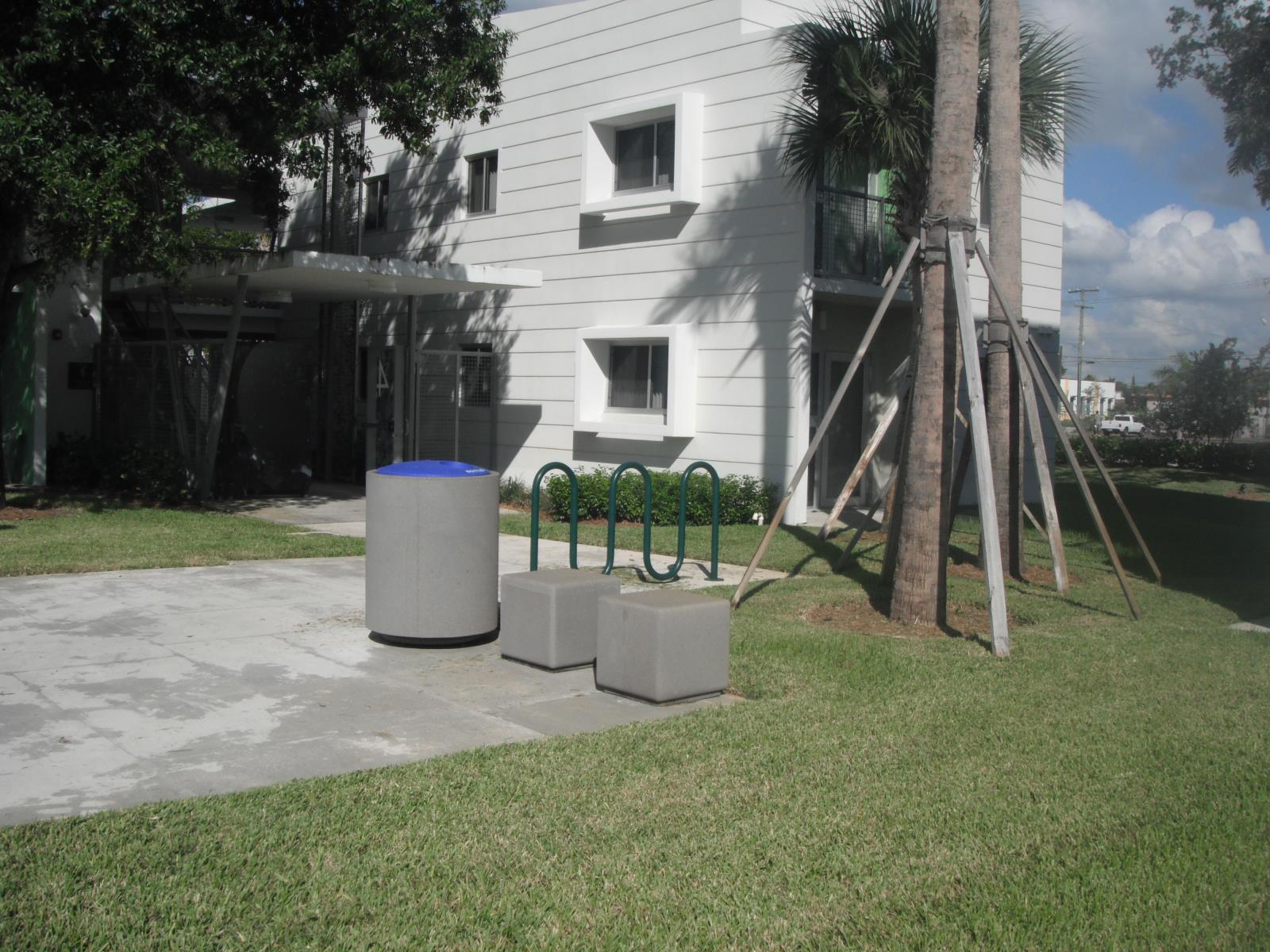 Multi-Family Recycling Walkways