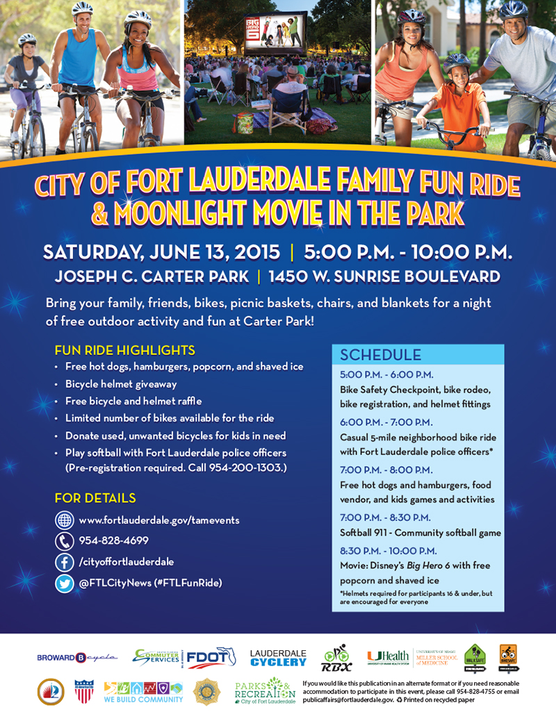 Flyer_Family Fun Ride_June 2015