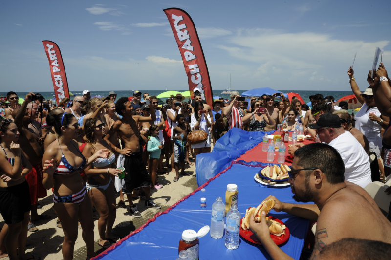 July 4 Eating Contests