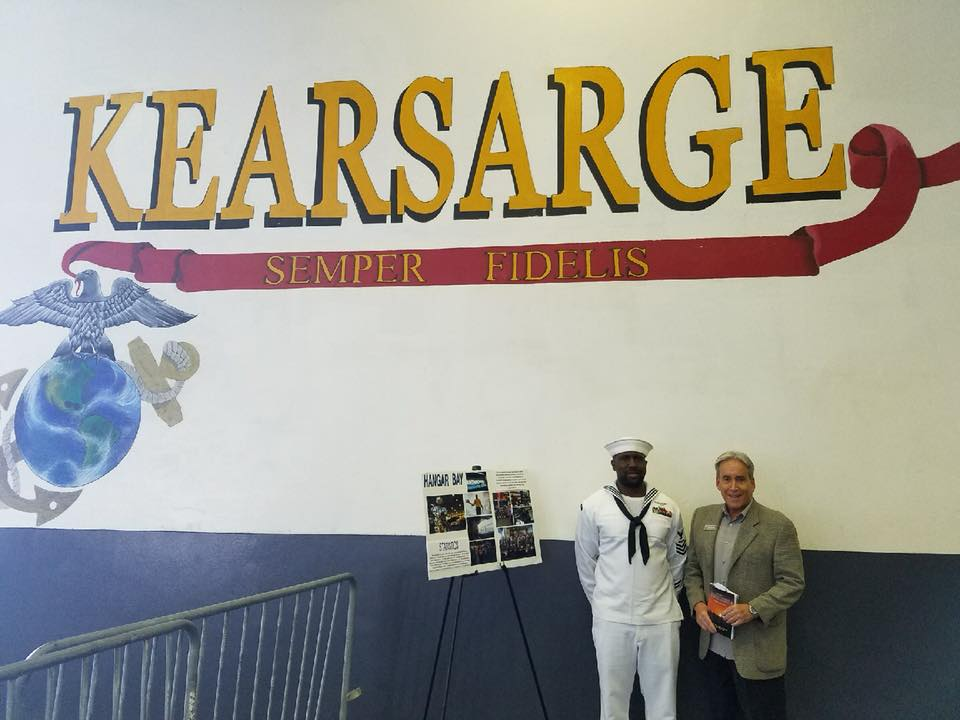 Tour of USS Kearsarge at Port Everglades with our Marines and Coast Guard for Fleet Week.