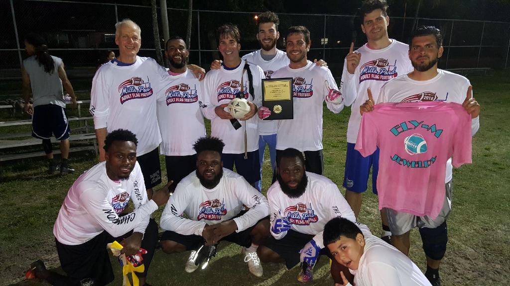 Flag Football summer champions 2018