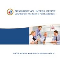 NVO - Background Screening