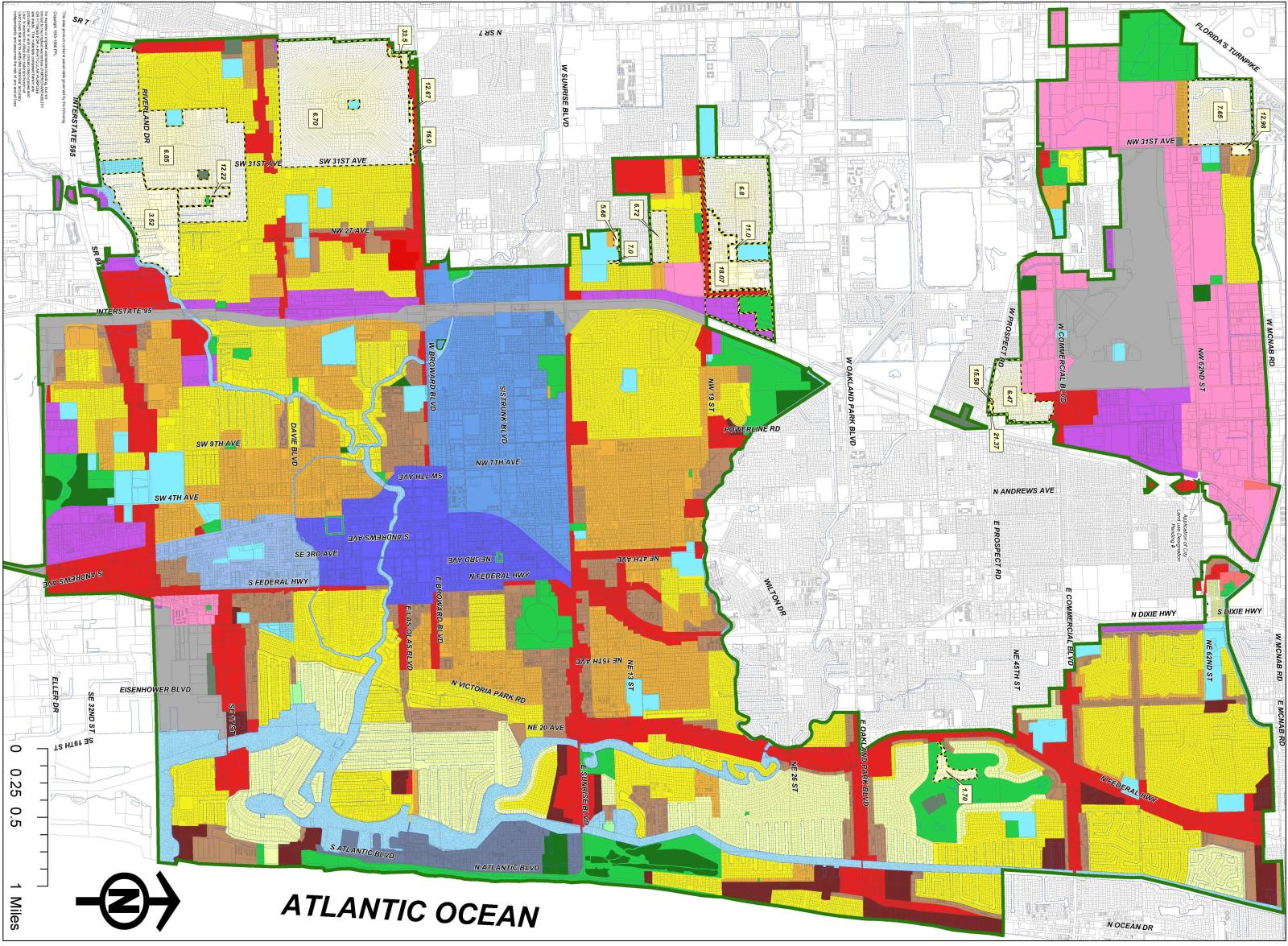 Future Land Use (24x36)Fort Lauderdale