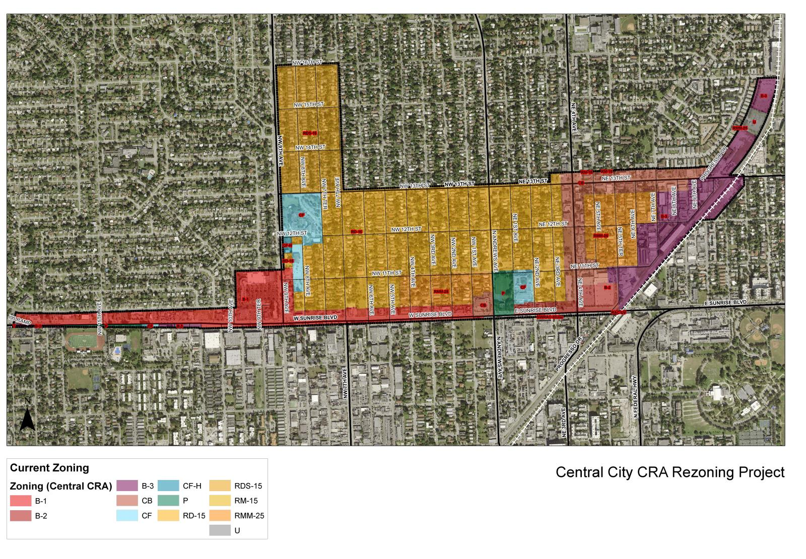 Central City CRA Rezoning Project