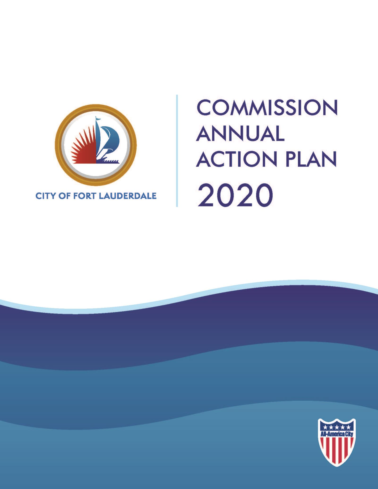 Commission Annual Action Plan Cover 2020
