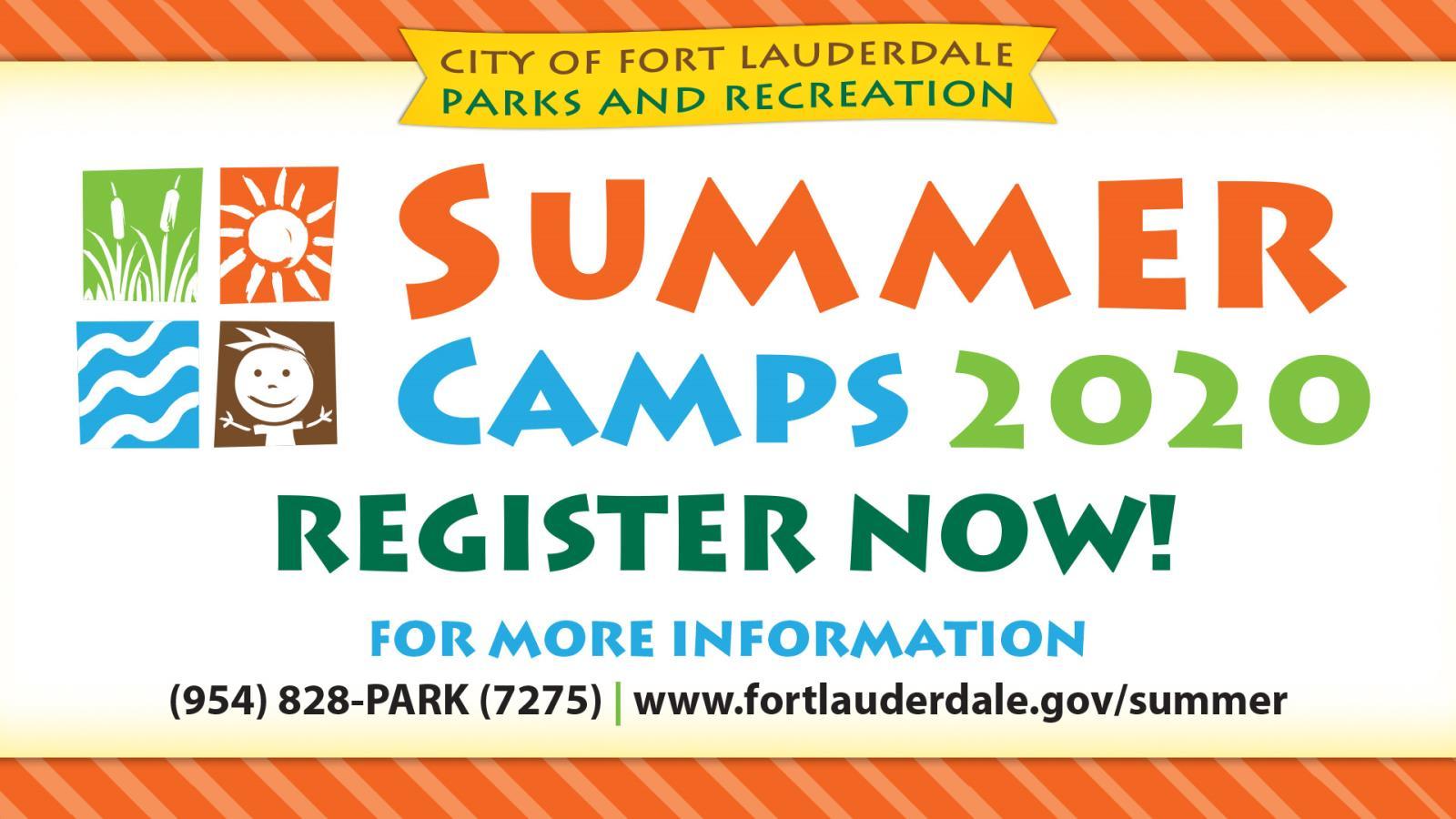 Summer Camp City Of Fort Lauderdale Fl