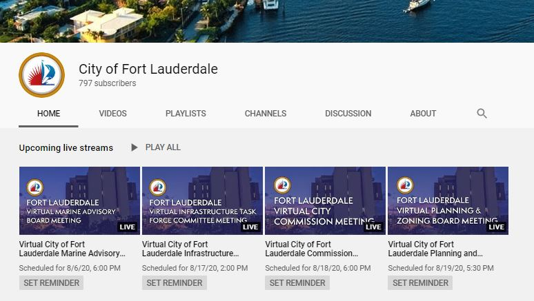 Temporary Fltv City Of Fort Lauderdale Fl
