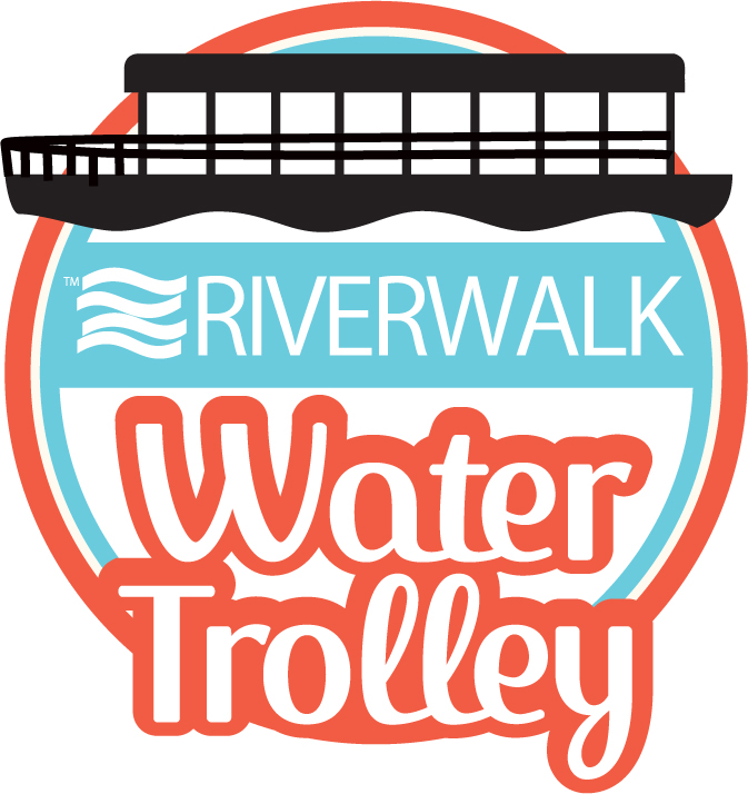 Riverwalk Water Trolley Logo