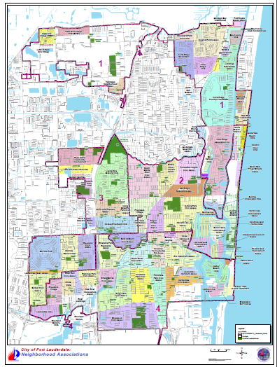 Fort Lauderdale On Map Of Florida.City Of Fort Lauderdale Fl Community Enhancement And Compliance
