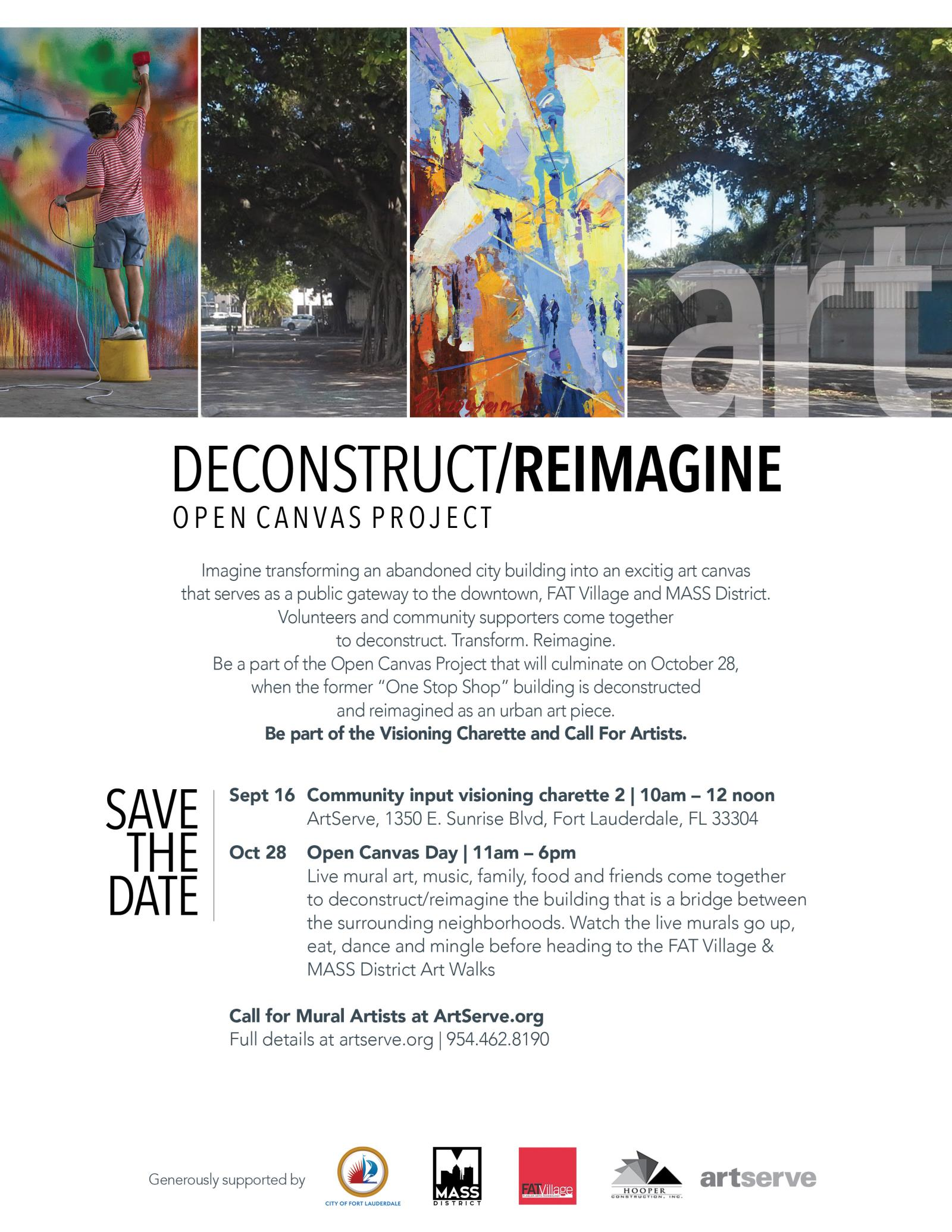 City of Fort Lauderdale, FL : Event Calendar : Open Canvas Day