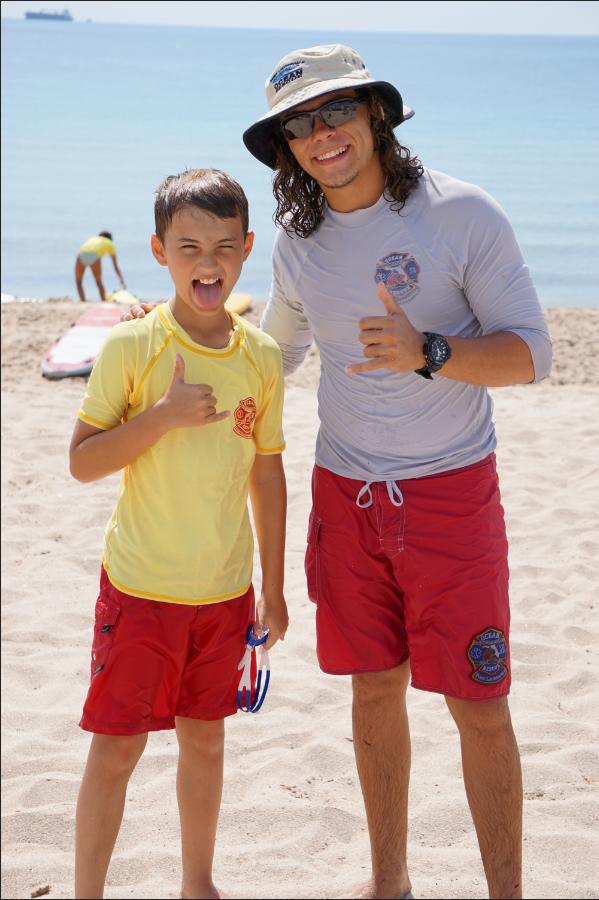 Cedano and kid
