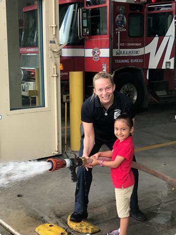 Junior Firefighter girls