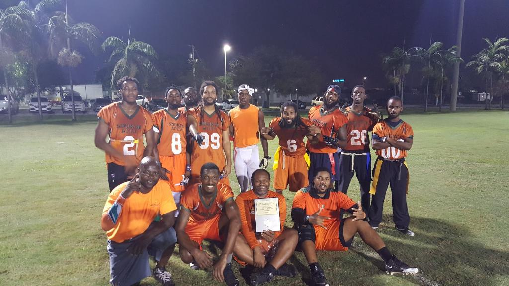 Mills Pond Park Flag Football Joes Division Champions Felix Hobby Shop
