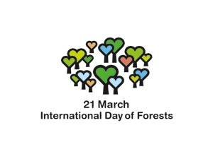 March International Day of Forests logo