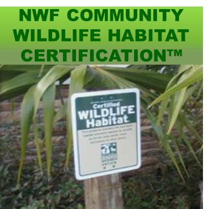 NWF Community WIldlife Habitat Certification