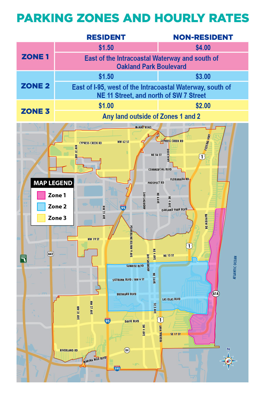 Fort Lauderdale Airport Map Food